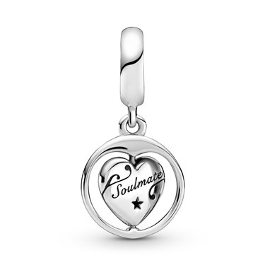 Pandora Forever & Always Soulmate Charm  - Click to view larger image