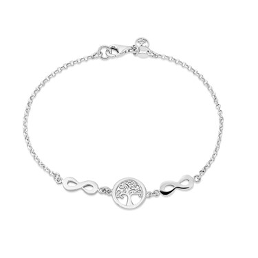 Argento Silver Tree Of Life Bracelet   - Click to view larger image
