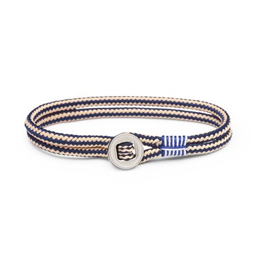 Pig and Hen Don Dino Navy Sand Bracelet  1