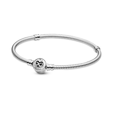 Pandora Moments Heart Infinity Clasp Bracelet  - Click to view larger image