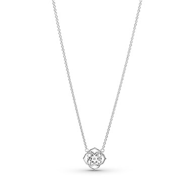 Pandora Rose Petals Collier Necklace  - Click to view larger image