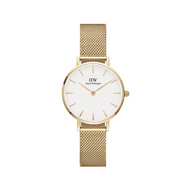 Daniel Wellington Petite Evergold White Dial 28mm Watch  - Click to view larger image