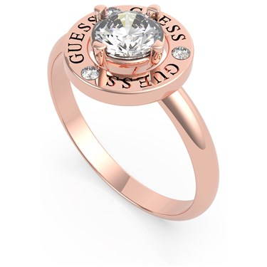 Guess Rose Gold All Around You Circle Ring 54 1