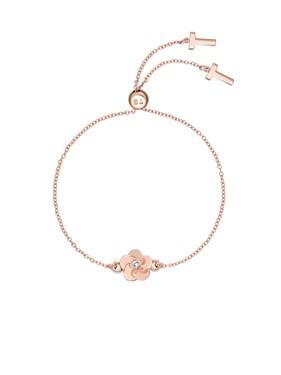Women's Jewellery Ted Baker Rose Gold Crystal Flower Bracelet