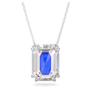 Swarovski Blue Chroma Necklace
