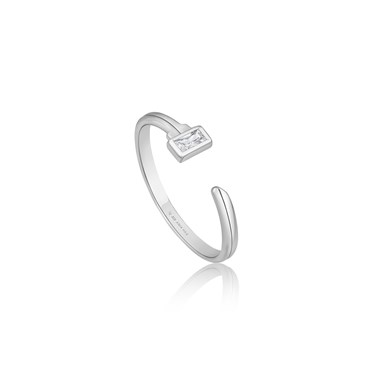 Ania Haie Silver Key Adjustable Ring