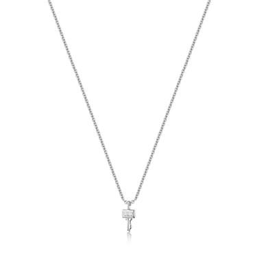 Ania Haie Silver Key Necklace