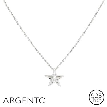 Argento Star Necklace