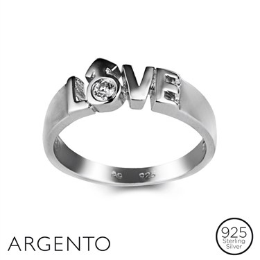 Argento Love Ring