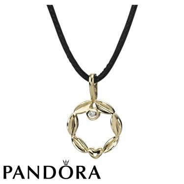 Pandora Golden Circle Necklace