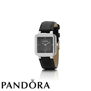 Pandora Grand Cushion Silver Watch