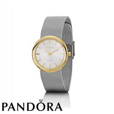 Pandora Pure Watch With Steel Mesh Strap