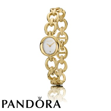 Pandora Gold Circles Bracelet Watch