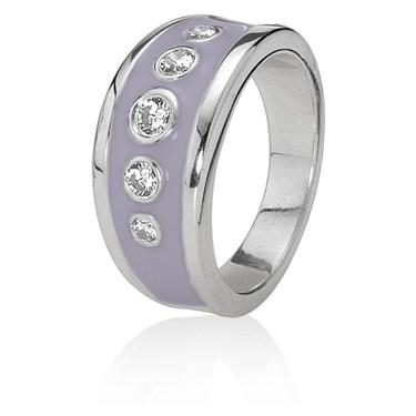 Pandora Lavender Promises Ring
