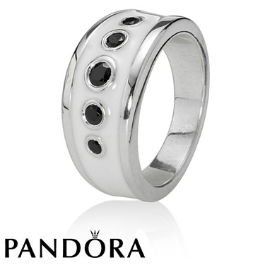 Pandora White Promises Ring