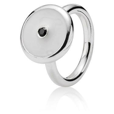 Pandora White Solitaire Promises Ring