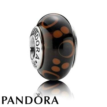 Pandora Brown Bubbles Charm