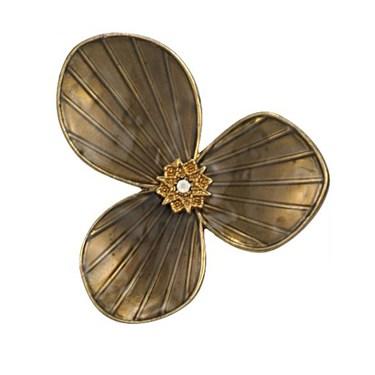 Pilgrim Bronze Star Flower Ring