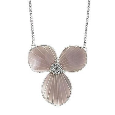 PILGRIM Purple Star Flower Necklace