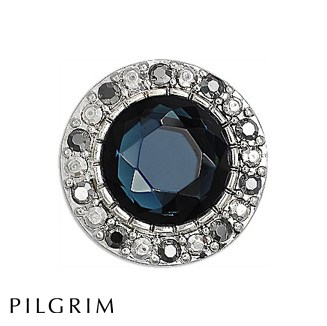 PILGRIM Blue Bohemia Ring