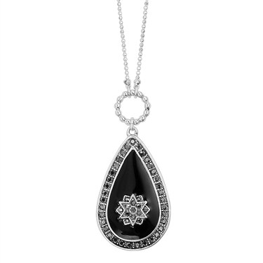 PILGRIM Bohemia Teardrop Necklace