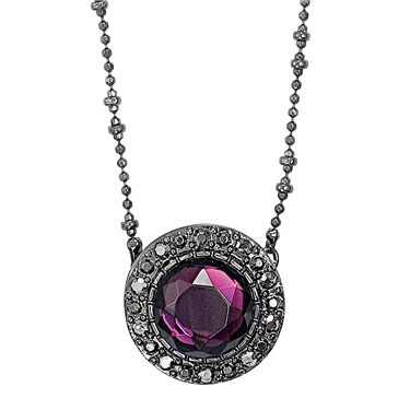 PILGRIM Purple Bohemia Necklace