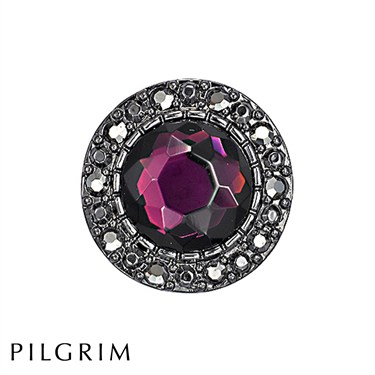 Pilgrim Purple Bohemia Ring