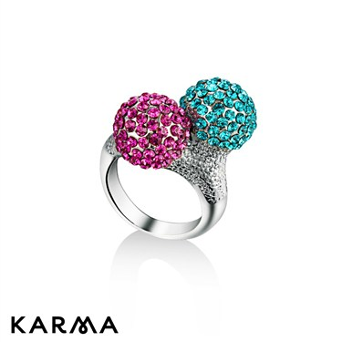Karma Multi Double dome ring