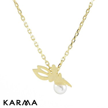 Karma Gold Fairy Necklace
