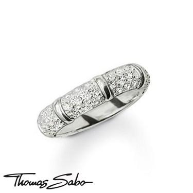 Thomas Sabo White Bamboo Ring