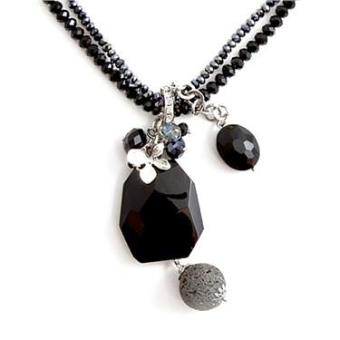 Karma Cascading Crystal Necklace