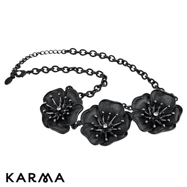 Karma Floral Chain Necklace