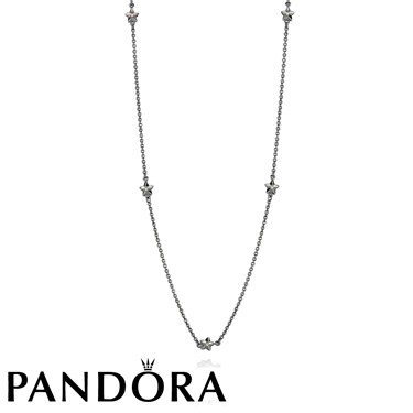 Pandora Silver Star Necklace