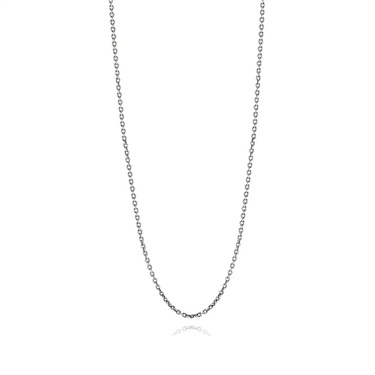 Pandora Oxidised Silver Chain Necklace