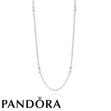 Pandora Silver Station Necklace
