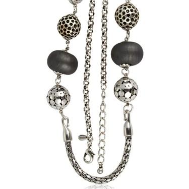 Karma Long Beaded Necklace