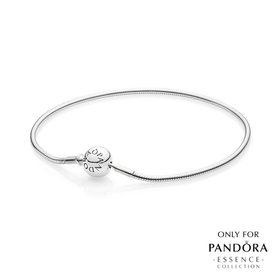 fdafb5ace Choose from the classic ESSENCE Silver Bracelet, or the beautiful ESSENCE  Silver Ball Chain Bracelet. Pandora ESSENCE Bracelet
