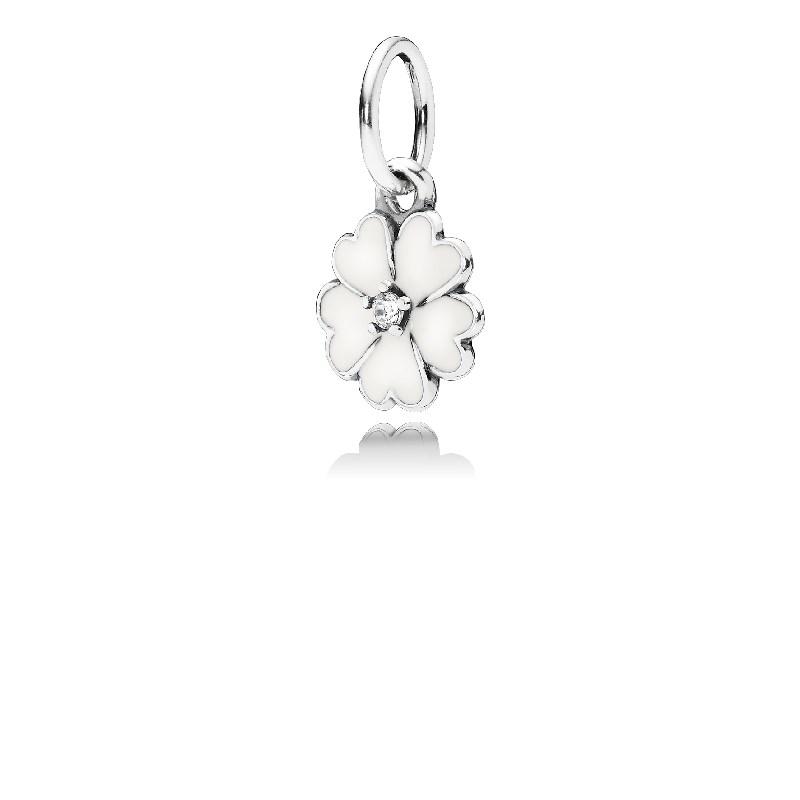 Pandora white primrose flower pendant argento pandora white primrose flower pendant click to view larger image mozeypictures Image collections