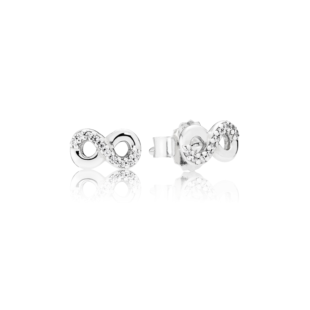 86df1a024 Pandora Infinite Love Earrings Pandora Infinite Shine Ring Pandora Love &  Friendship Charm