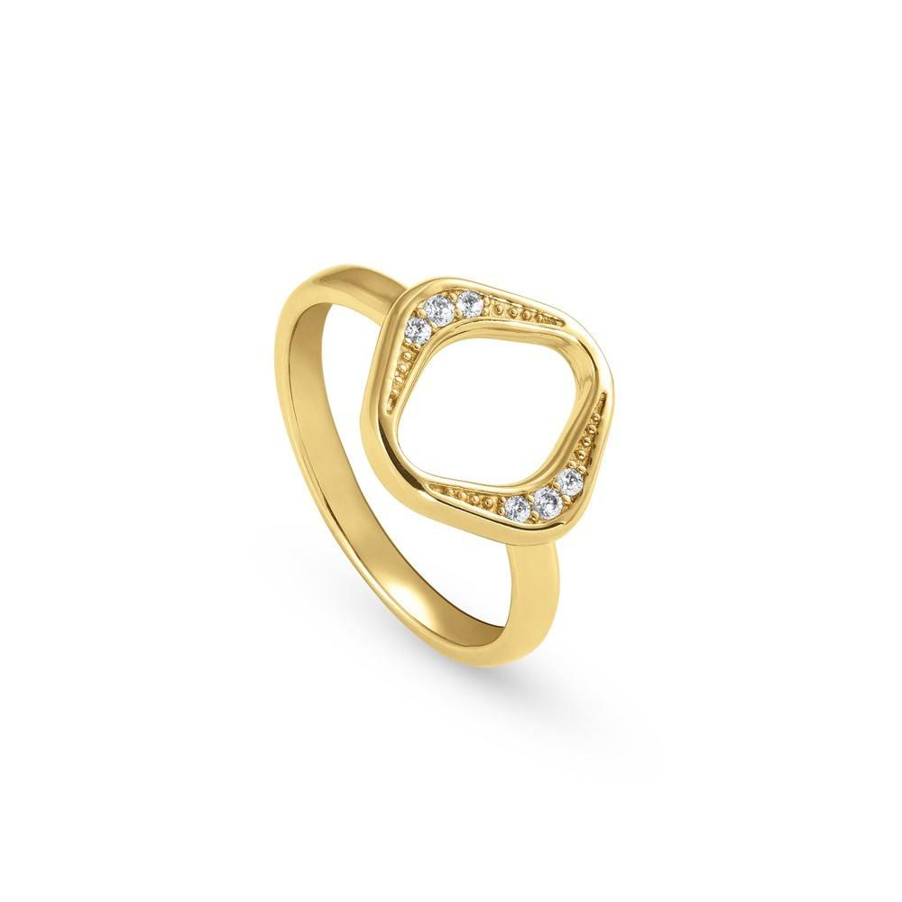 Nomination Gold Unica Rhombus Ring  1