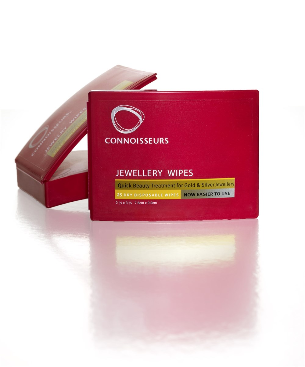 Connoisseurs Jewellery Beauty Wipes 1