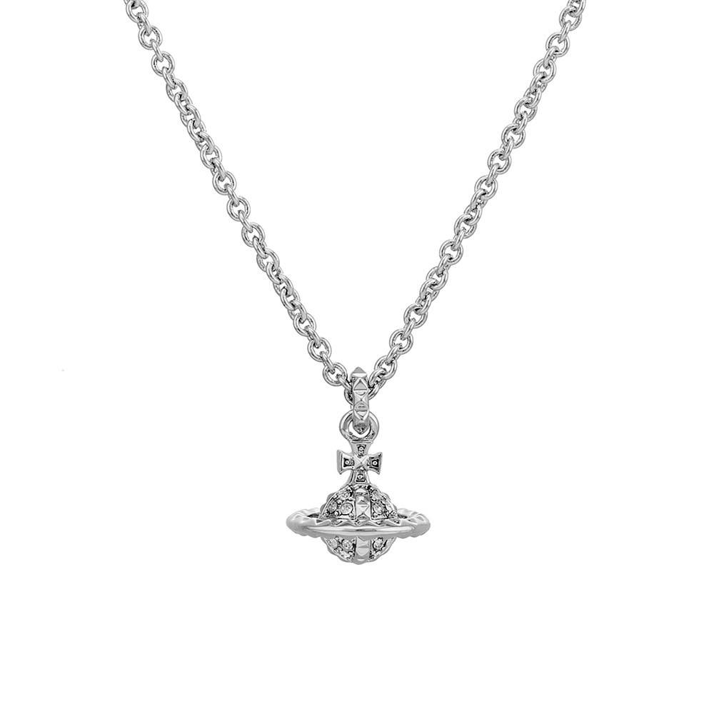 Vivienne Westwood Silver Mayfair Mini Necklace 1