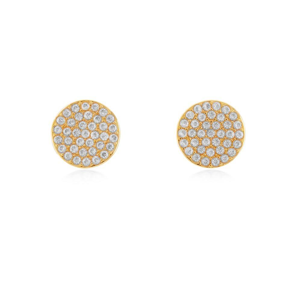 Kate Spade New York Gold Pave Stud Earrings 1