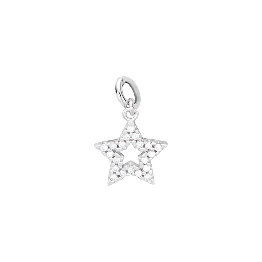 Storie Silver Star Charm  1