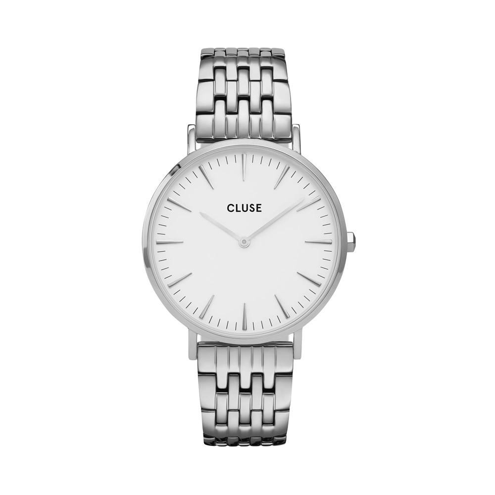 CLUSE LaBoheme Multi-Link Silver Watch  1
