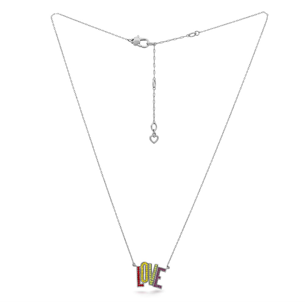 Kate Spade New York Rainbow Love Necklace 1