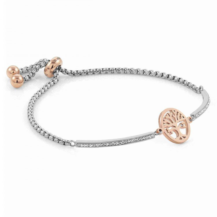 Nomination Silver + Rose Gold Milleluci Tree Of Life Bracelet  1
