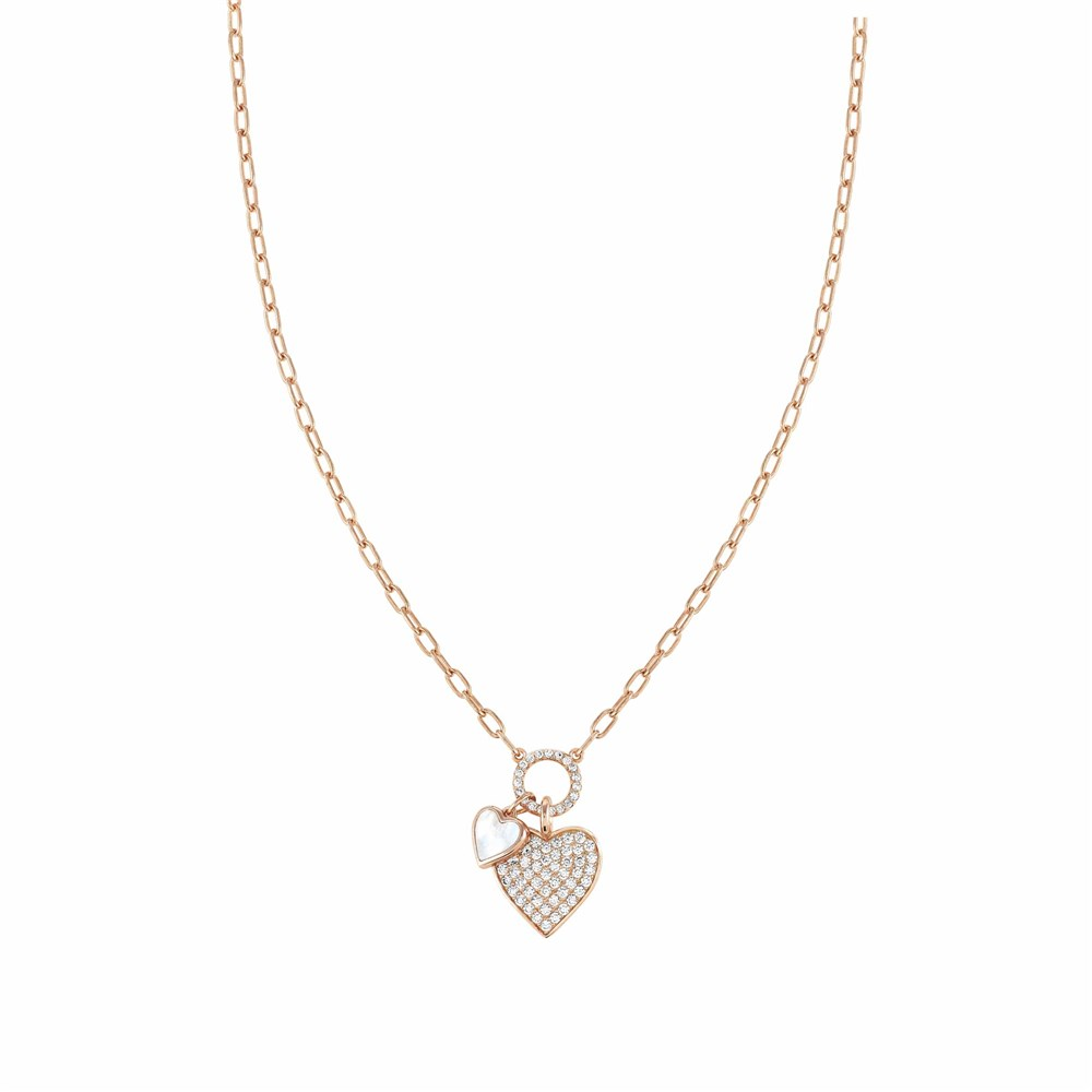Nomination Rose Gold Vita Hearts Necklace 1