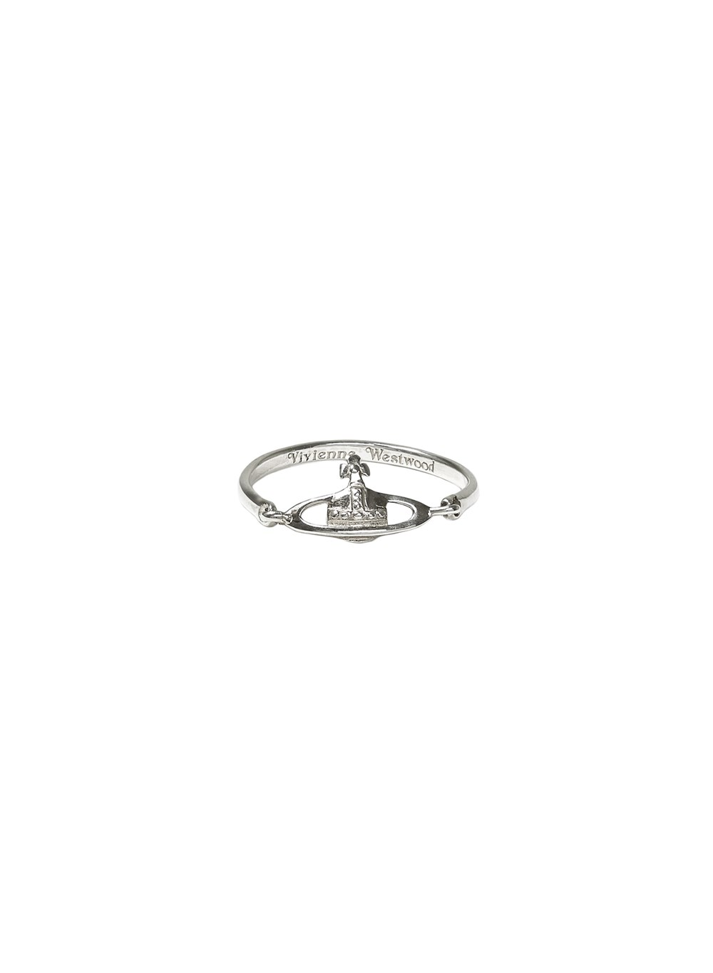 Vivienne Westwood Sterling Silver Vendome Ring  1