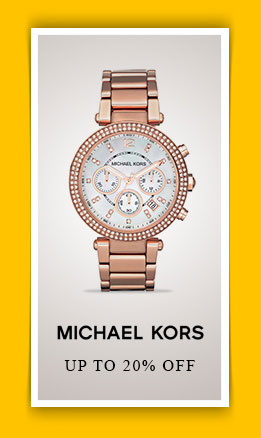 up to 20% off Michael Kors
